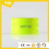 ليمون - صفراء [دوت-ك2] شريط انعكاسيّة