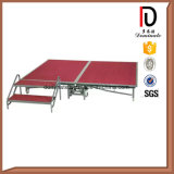 Concerto ao ar livre Uso alumínio Metal Folding Movable Wedding Portable Stage
