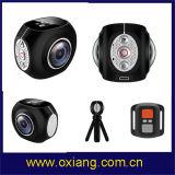 Камера спорта камеры 30fps WiFi Angleaction реального экрана дистанционного управления 4k миниого DV двойного широкая