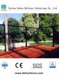 Rete fissa di vetro ornamentale rivestita personalizzata della polvere nera con l'alta qualità