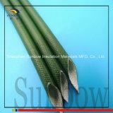 Sleeving da isolação da fibra de vidro do fio elétrico de 1.2kv 2.5mm