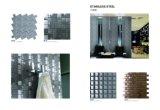 Mosaico di cristallo e d'acciaio