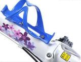 Suporte de garrafa de água de bicicleta de plástico ajustável Multi-Colors
