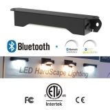 luz ajustable del ángulo de haz de 12V Bluetooth (CCT) Dimmable IP65 LED Hardscape