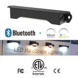Bluetooth 광도와 Colortemp 지배할 수 있는 IP65를 가진 조경 벽 빛