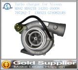 自動車部品のターボ充電器OEM 14201-Z6008 707262-7日産MD92 MD92tbのための150523 Gt4082lrs