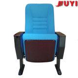 Precio de fábrica asiento de cine de movimiento portátil barato diseño ergonómico marco de metal silla de la escuela silla de madera plegable