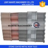 El peso cubierto arena de los azulejos de azotea del metal es 1/8 de los azulejos de la arcilla y de los azulejos del cemento