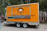 De mobiele Bestelwagen van het Roomijs voor Verkoop Saudi-Arabië