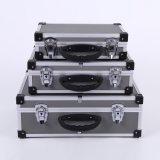 Boîtier aluminium Three-Piece de bonne qualité de promotion de prix de plancher (KeLi-Tool-7086)