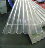 Strato ondulato del lucernario di superficie liscio del policarbonato FRP 1.0mm~3.0mm FRP