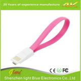 Зарядный кабель Sync данным по USB 2.0 плоского перемещения микро-