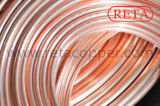 Tubo de cobre de la crepe de la talla 9.52m m