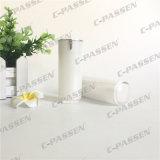 botella privada de aire de acrílico blanca de la loción de la perla 15ml para el empaquetado del cosmético (PPC-AAB-031)