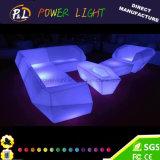 Mágica da mobília da sala de estar que pisca a mobília colorida do sofá do diodo emissor de luz