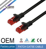 Sipu CCC / CE / RoHS aprobado cobre UTP Cat 5e Patch Cable