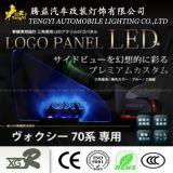 Lampe de panneau automatique de logo de lumière de guichet de véhicule de DEL pour Toyota Vellfire