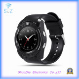 Multi-Function V8 Bluetooth Fashion Andriod Smart Watch para Monitor de Saúde