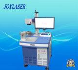 Machine Environnemental-Protectrice d'inscription de laser de fibre en métal avec le mandrin rotatoire