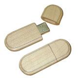 Mecanismo impulsor de bambú de madera de la pluma del palillo de la memoria del regalo de boda para promocional