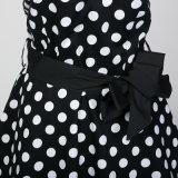 Plusgrößen-Mädchen-Partei-reizvolle Backless Sommer-Kleider mit Badage