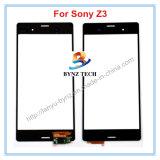 Tela de toque do LCD do telefone de pilha para o conjunto de vidro do digitador da lente do sensor de Sony Xperia Z3 D6603 D6643