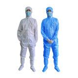 Combinaison antistatique fonctionnante de DÉCHARGE ÉLECTROSTATIQUE de vêtements de Cleanroom