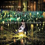 Indicatori luminosi esterni della decorazione del fiore della sfera del LED per uso del giardino