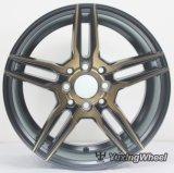 15, колесо сплава 16 дюймов гипер черное для вспомогательного оборудования автомобиля