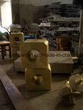 Fonderie en bronze de fonte d'aluminium de cire de procédé de bâti
