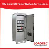 système de l'alimentation 48VDC solaire hybride pour l'éclairage extérieur solaire