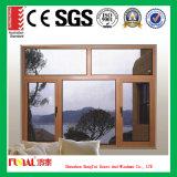 주문을 받아서 만들어진 크기 미국 오크재 알루미늄 여닫이 창 Windows