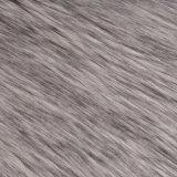 アクリルの擬似毛皮ののどの人工毛皮Frの長いパイル生地の毛皮
