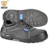 Zapatos de seguridad del cuero de grano lleno de la alta calidad S1p/del cuero partido de la vaca
