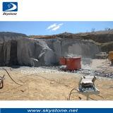O fio viu a máquina para a pedreira de mármore de Granite&