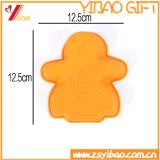 Herramientas de la hornada del molde de la torta del silicón de la dimensión de una variable del hombre de pan de jengibre/del molde del chocolate
