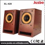 Altofalante sadio do DJ da caixa de madeira do altofalante da mesa dos multimédios XL-104
