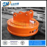 Тип магнит Dia-1500mm круговой землечерпалки поднимаясь для поднимаясь утилей с кругом обязаностей Emw-150L/1-75 75%
