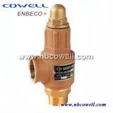 Válvulas de seguridad de cobre amarillo útiles modificadas para requisitos particulares de la relevación de presión