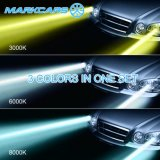 Markcarsのヘッドライトの自動水平になるキット9005 9006台の自動車ライト