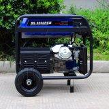 Aire portable del generador de la gasolina 13HP la monofásico de la CA del alambre de cobre del precio de fábrica del bisonte (China) BS5500 4kw 4000W 4kVA refrescado
