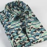 도매 단추 고리 셔츠 형식 남자 면 긴 소매 셔츠