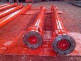 Asta cilindrica di cardano saldata telescopica per macchinario industriale