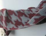 Envoltório macio do xaile do lenço da estola da impressão do Gird da andorinha da caxemira das mulheres (SP210)