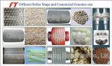 De grande capacité granulatoire sous tension d'engrais d'extrusion de roulis longtemps double avec la qualité fiable