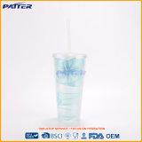 고품질 최신 판매 밀짚을%s 가진 플라스틱 물병