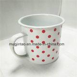 취사도구에 의하여 놓이는 매일 컵 마시는 컵 Enamelware 사기질 주석 컵