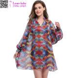 Form-Frauen-elegantes Chiffon- Strand-Partei-Kleid Ty1019
