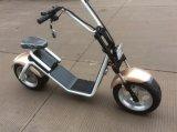 Roue de Citycoco/Scrooser deux, scooter électrique de Vespa électrique de la moto 1200W pour les hommes