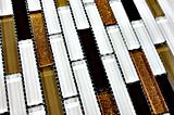 2017 mattonelle di mosaico di vetro del materiale da costruzione